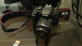 Canon Eos Rebel T3i - Estado De Novo - Frete Gratis