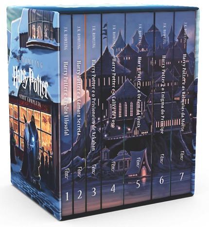 Box Harry Potter - Serie Completa J.k. Rowling