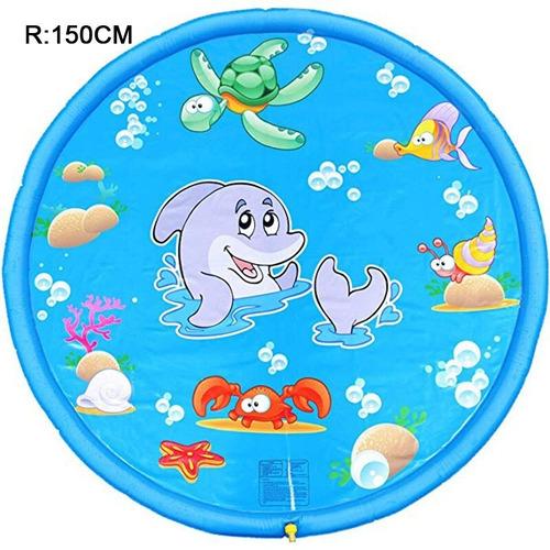 Piscina De 170cm Rociadora Niños Inflable Agua Splash Pvc