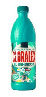 Caja Cloro Cloralex 20 Botellas De 500 Ml.
