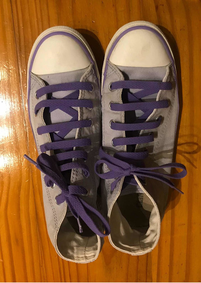 Zapatillas Converse All Star Impecables Mujer Talle 37.5
