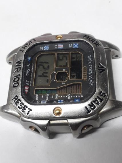 Relógio Citizen Lcd D28a-s64576 Promaster (no Estado)