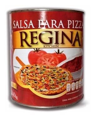 Salsa Para Pizza Regina 2840 Grs El Mexicano Mayoreo 6 Pzas