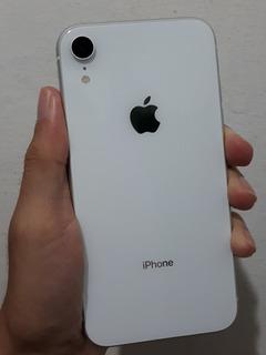 iPhone Xr Apple 64gb Branco Seminovo Impecável