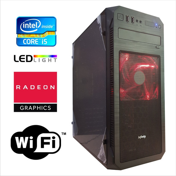 Pc Cpu Gamer I5 3.2 8gb Ram 500gb Placa De Video 2gb Brinde