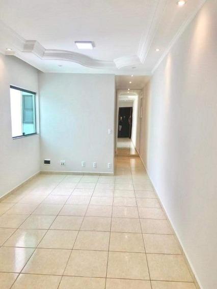 Apartamento Com 2 Dormitórios À Venda, 60 M² - Vila Homero Thon - Santo André/sp - Ap62890