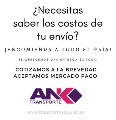 Envíos Encomienda Mensajería Transporte Ank A Todo El País