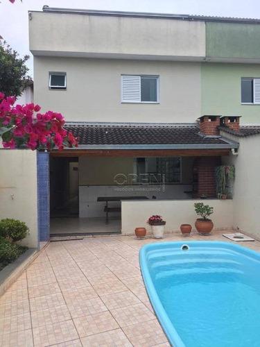 Sobrado À Venda, 229 M² Por R$ 1.145.000,00 - Vila São Pedro - Santo André/sp - So1708