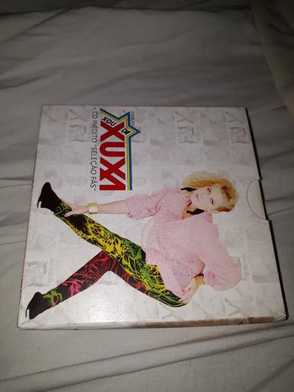 Box Coleção Xou Da Xuxa + Cd Inédito Seleção Fãs Com 8 Cds