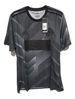 Jersey Playera adidas Tan Pl Deportiva Gym Runner Color Gris