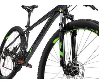 Bicicleta Caloi 29 Alumínio Com Suspensão Dianteira Aro 29 21v Cinza