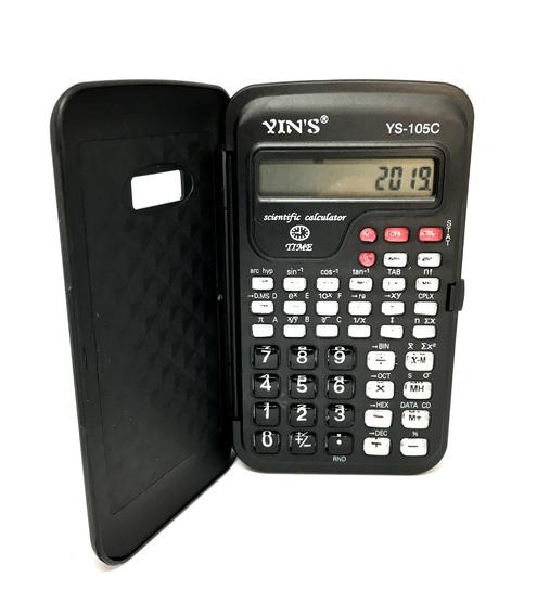 Calculadora Científica E Eletrônica 10 Dígitos Yins Ys-105c