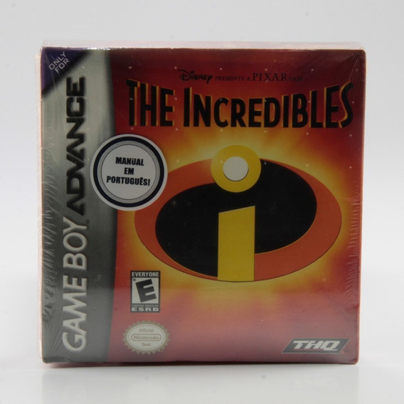 The Incredibles - Game Boy Advance - Mídia Física - Lacrado!