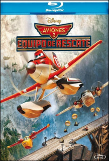 Blu-ray - Aviones 2