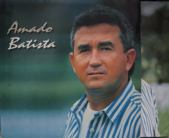 Amado Batista - Lp Saudade Tum Tum - Rca 1995 C/encarte