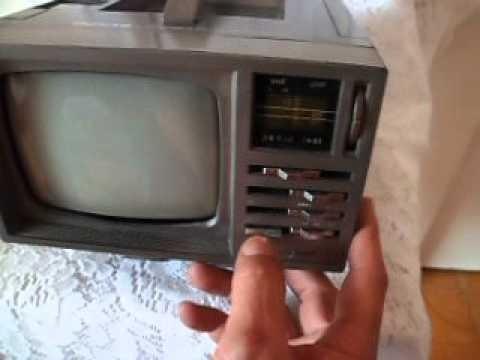 Tv Deluxe 5 Portable B/w Rádio Am/fm