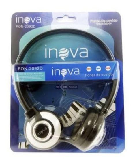 Fone De Ouvido Com Microfone Estéreo - Fone Inova