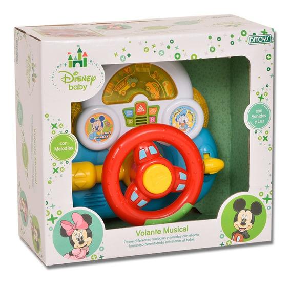 Disney Baby Volante Musical Con Luces Y Sonidos Ditoys