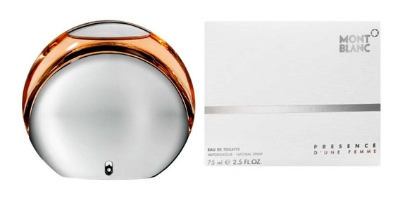 Perfume Mont Blanc Presence 75ml Feminino Original Lacrado