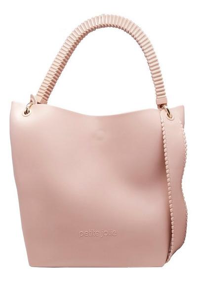 Bolsa Petite Jolie City Bag Pj3292 Nude Cor:nude