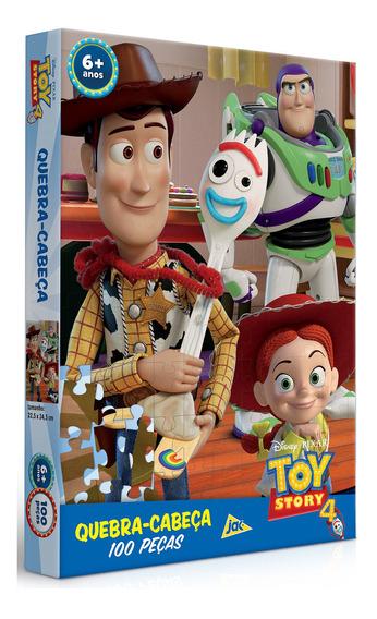 Puzzle Quebra Cabeça Toy Story 4 100 Peças Toyster