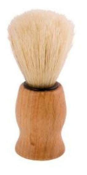 Brocha De Afeitar Madera De 9cm Cerdas Sinteticas