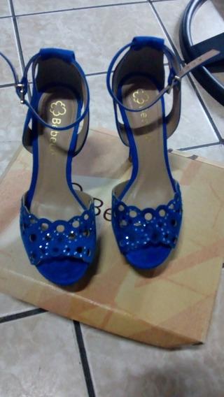 Sandália Azul Bebecê! Número 35