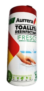 35 Toallitas Desinfectantes (elimina 99.9% Virus Y Bacterias