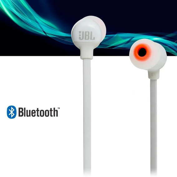 Fone Jbl T110 Bluetooth Branco Garantia 12 Meses