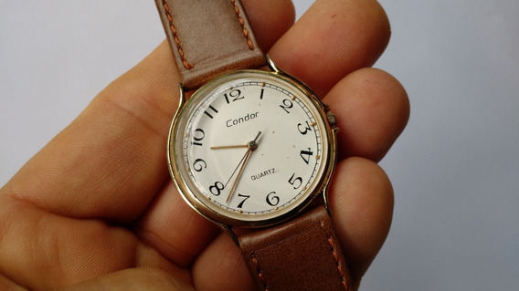 Relógio Condor Antigo Dourado Perfeito