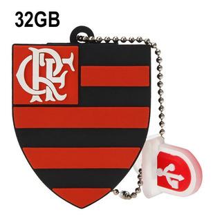 Pen Drive Personalizado 32gb Times Futebol Flamengo