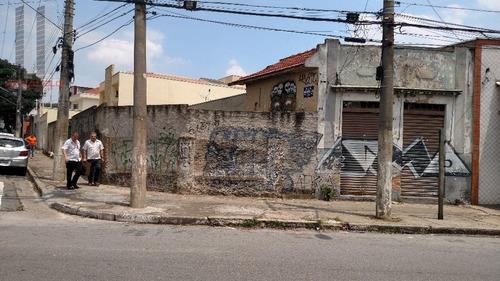Terreno Residencial À Venda, Vila Oratório, São Paulo. - Te0099