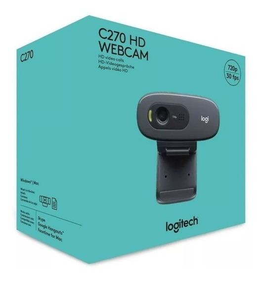 Camera Web Cam Hd Logitech C270