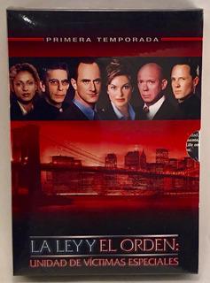 La Ley Y El Orden Victimas Especiales Temporada 1 - Dvd - O