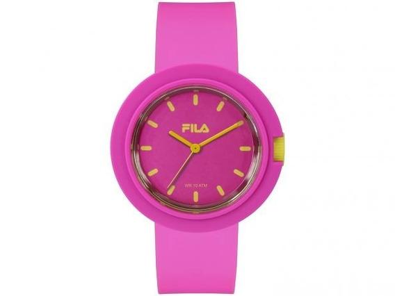 Relógio Fila Rosa Analogico Pink C Amarelo - 38-109-003