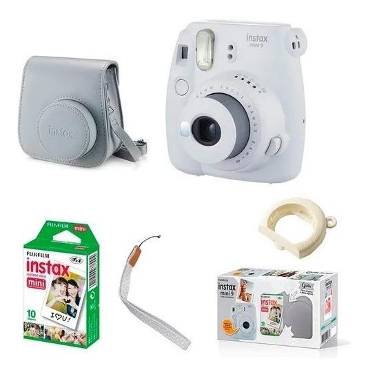 Kit Camera Instax Mini 9 Branca
