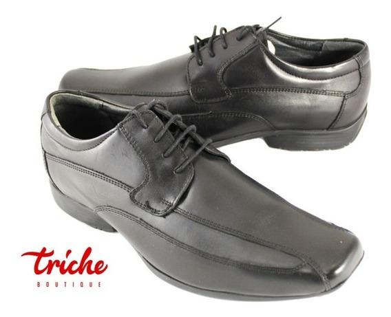 Calzado Zapato Caballero Negro Flexi 73801 Vestir Agujeta
