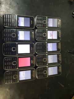 Lote 10 Celular Nokia C2-01 Desbloqueados