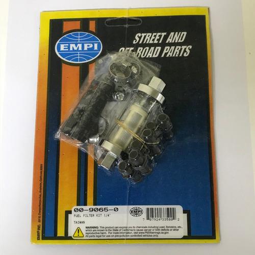 Filtro De Combustivel De Vidro Fusca Empi Cromado  00-9065-0