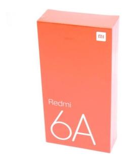 Smartphone Xiaomi Redmi 6a 16gbmemoria 2gbram Cor Preto