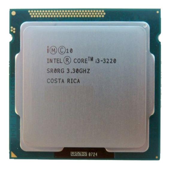 Cpu Core I3 3220 4gb Hd 80 Gb
