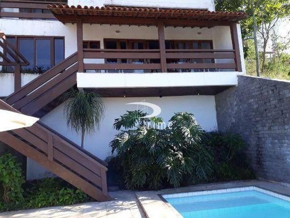 Casa Com 5 Dormitórios À Venda, 400 M² Por R$ 1.840.000,00 - Camboinhas - Niterói/rj - Ca0776