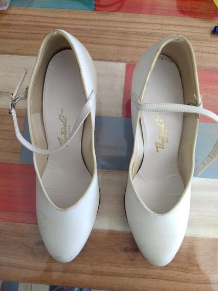 Zapatos Tap Made Usa Con Chapas Capezio