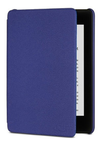 Capa De Couro Amazon Para Kindle Novo Paperwhite Roxa