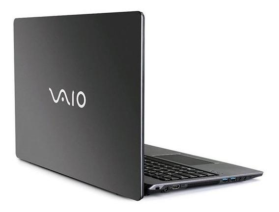 Notebook Vaio Fit 15s I7-8550u 8gb 256gb Ssd 15.6 Fullhd Tec