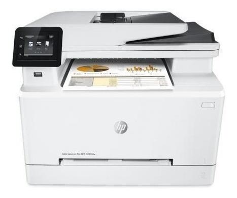 Impressora Hp Color Laser M281fdw 220v Branca