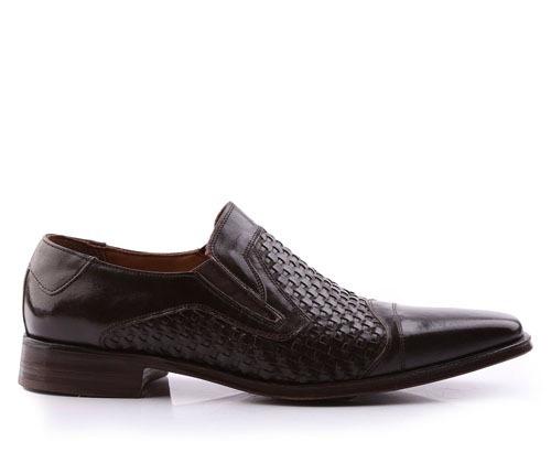 Zapatos De Hombre De Cuero Natural Mauro - Ferraro -