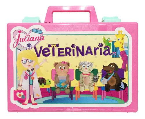 Juliana Valija Veterinaria Chica C/acc Original Vj83 Bigshop