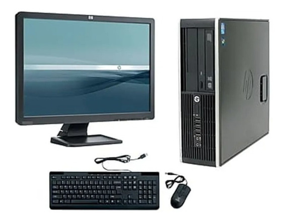 Kit Cpu Hp 6300p Core I3 4gb + Monitor 20 + Teclado+ Mouse