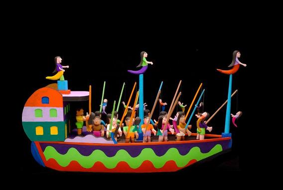 O Mundo Fantástico Do Mestre Zezinho - Escultura Em Madeira